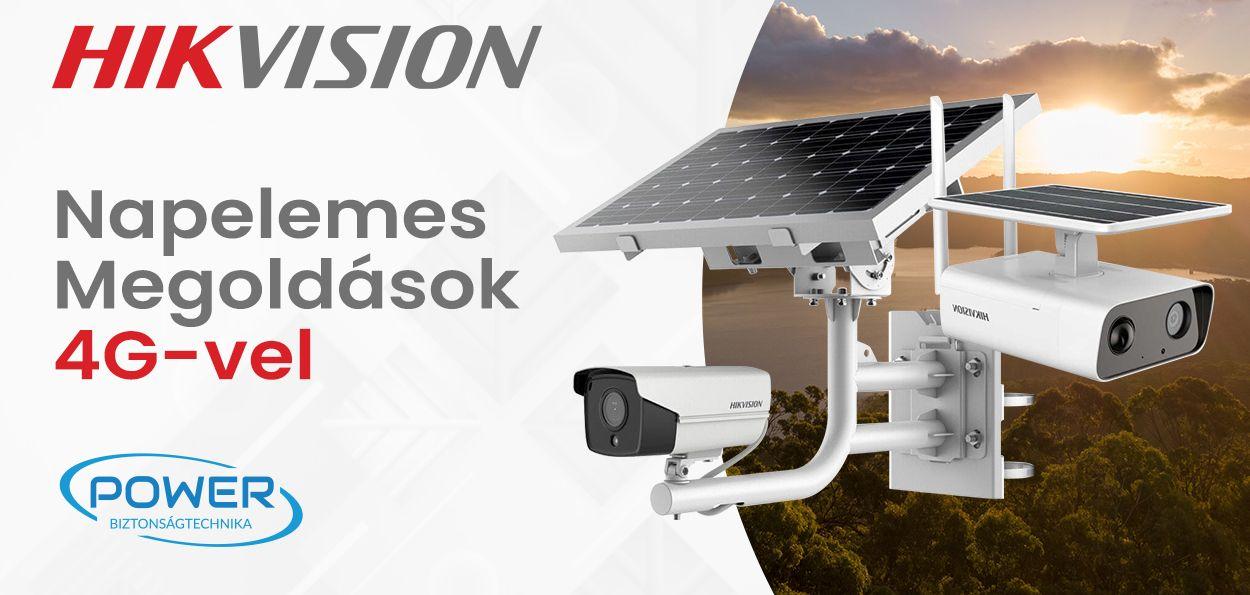 Hikvision napelemes megoldások