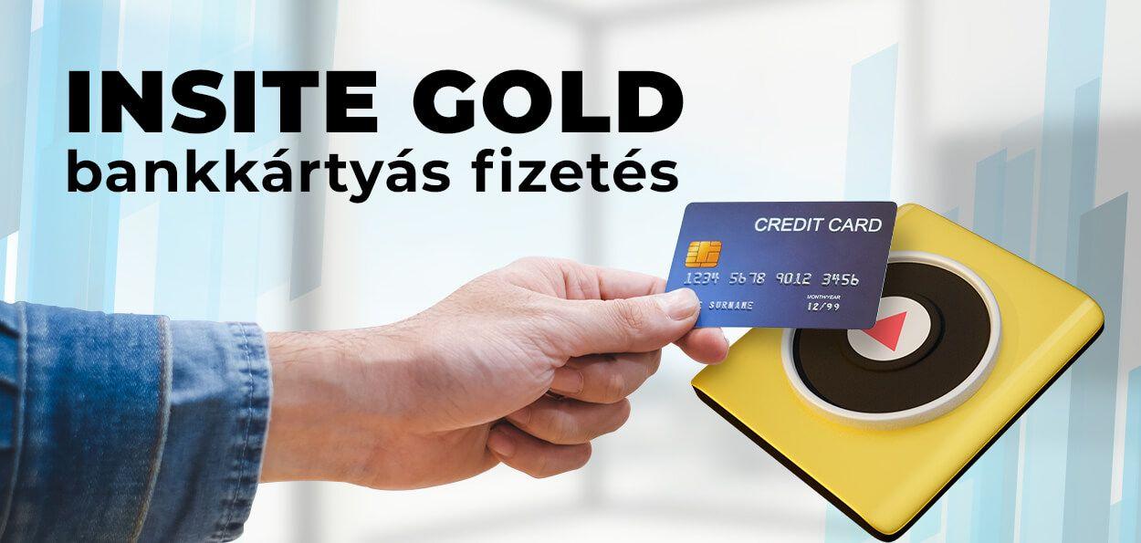 INSITE GOLD bankkártyás fizetés
