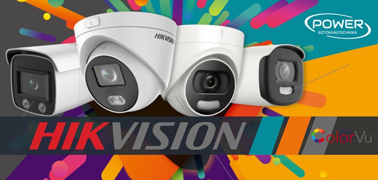 Második generációs Hikvision ColorVU kamerák