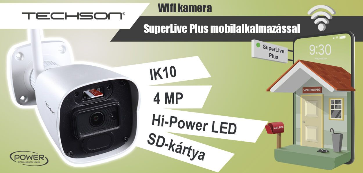 Speciális felhasználásra: Wifi kamera - TCI EA2 C904 IH M -2.8 /W