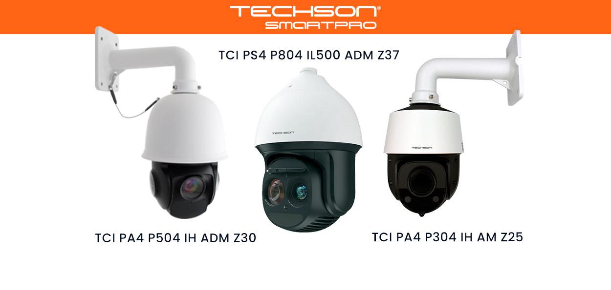 Techson nyomkövető PTZ kamerák
